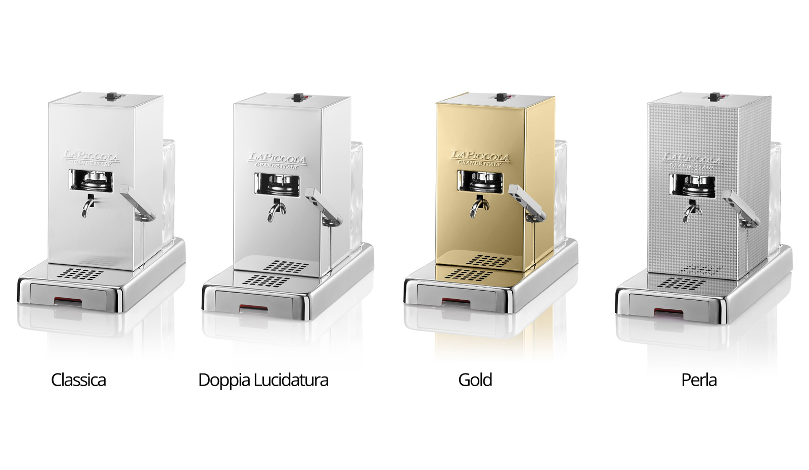 suisstore.com - Online shop for unique products with tradition, passion and distinctive taste | Coffee machine ESE-Pods LaPiccola Piccola | Only when you taste, feel and see the passion of the manufacturers